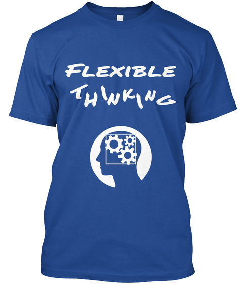 Flexible I K T I N H N G Deep Royal T-Shirt Front