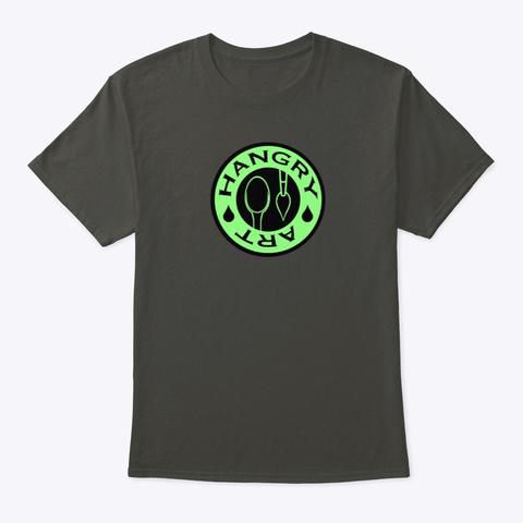 Circle Logo Smoke Gray T-Shirt Front