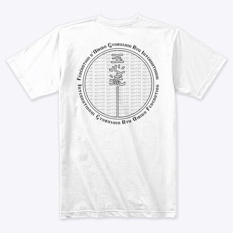 Bali 2019 Gasshuku White T-Shirt Back