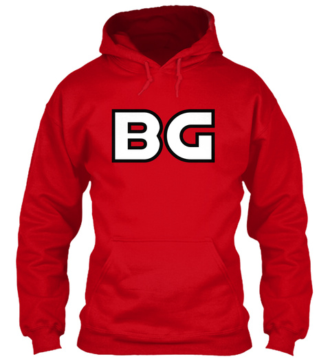 Bg Red Sweatshirt Front
