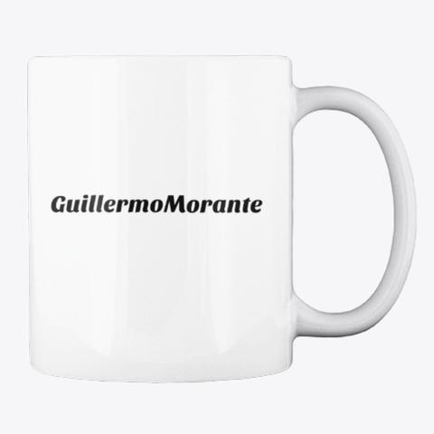 Taza Firmada Por Guillermo Morante White T-Shirt Back
