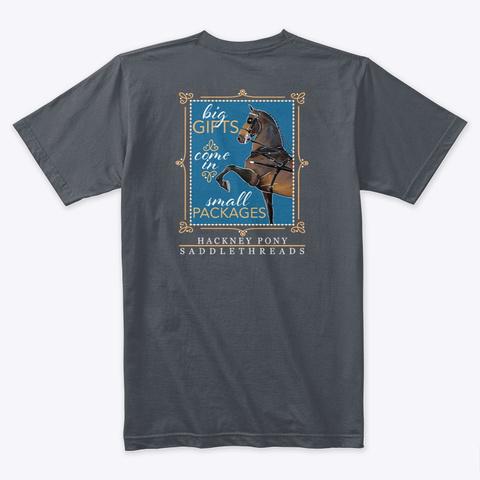 Hackney Pony   Gifts Heavy Metal T-Shirt Back