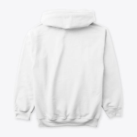 Beholder   Facing Right Arctic White Sweatshirt Back