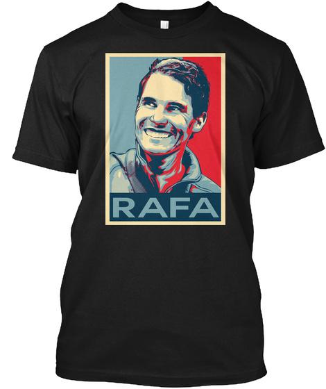 Rafa Hope Poster Shirt Black T-Shirt Front