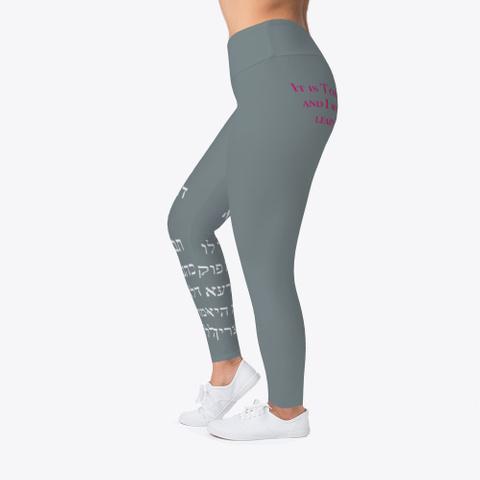 Forbidden Leggings Medium Grey T-Shirt Left