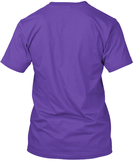Hipsters Of The Coast Stacked Logo Purple Rush T-Shirt Back