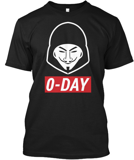 0 Day Black T-Shirt Front
