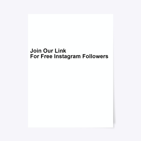 Free Instagram Followers And Hearts Standard T-Shirt Front