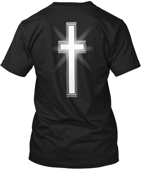Thru The Roof   T Shirt (Front And Back) Black T-Shirt Back
