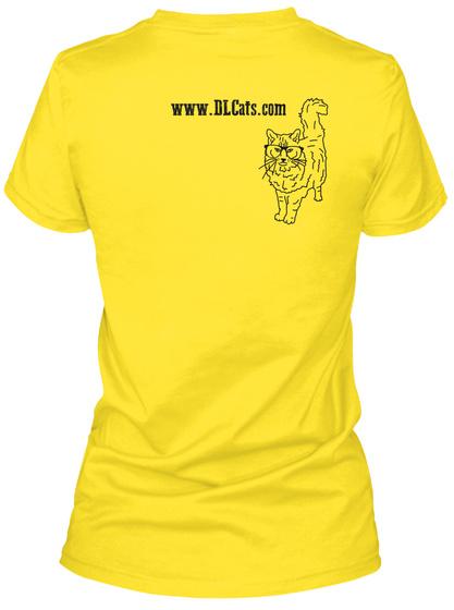 Www.Dlcats.Com Daisy Women's T-Shirt Back