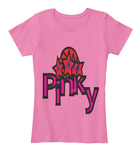 Pinky Women Premium Tees True Pink Women's T-Shirt Front