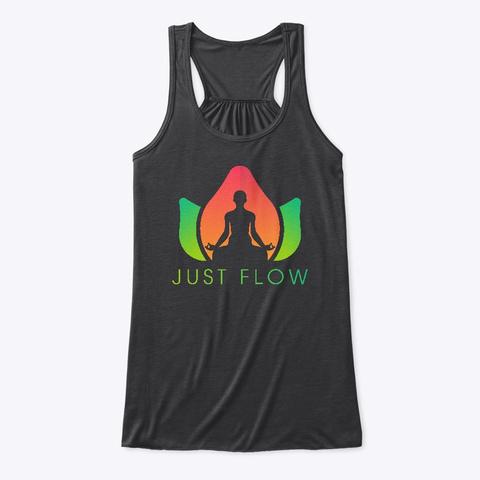 Just Flow Dark Grey Heather T-Shirt Front
