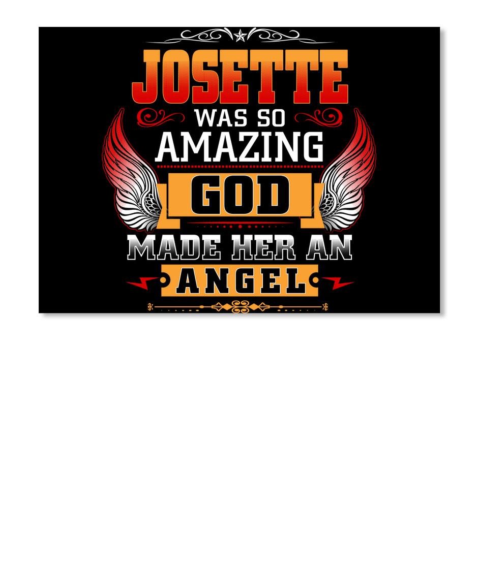 Never Underestimate The Power of Josette Hoodie Black