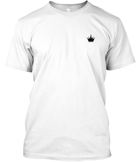 Alidra Crown White T-Shirt Front