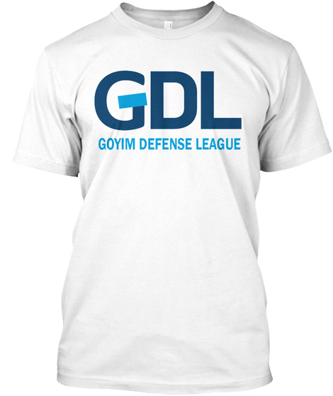 Official T Shirt Of The Gdl White T-Shirt Front