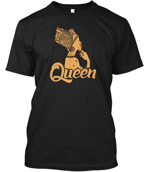 Queen Black T-Shirt Front