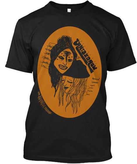 Vantana Row Samhain Tee (Blk/Org) Black T-Shirt Front