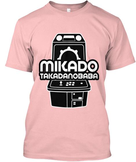 Mikado Takadanobaba Pale Pink T-Shirt Front