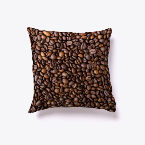 Coffee Beans Pillows And Towels Standard T-Shirt Back