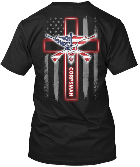 Corpsman Black T-Shirt Back