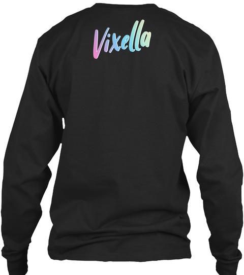 Vixella Black Camiseta Back