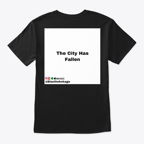 Mayhem (Story Edition) Black T-Shirt Back