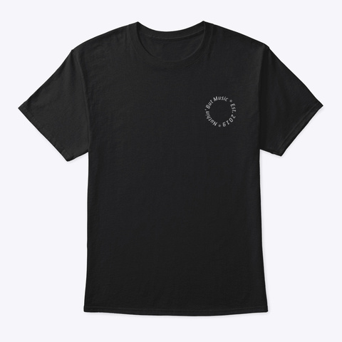 Season 3 Black  Black T-Shirt Front