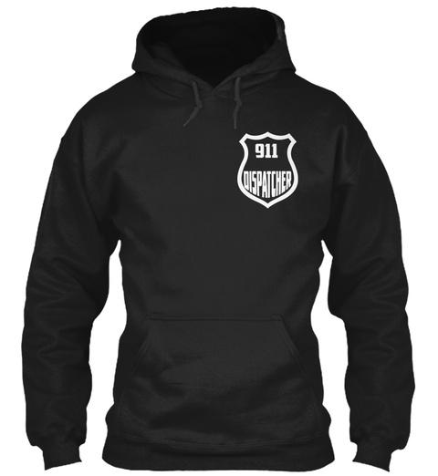 911 Dispatcher Black Sweatshirt Front