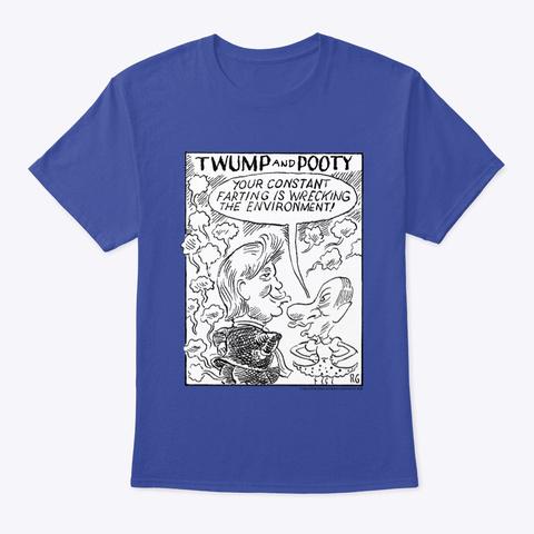 Twump 1 Deep Royal T-Shirt Front