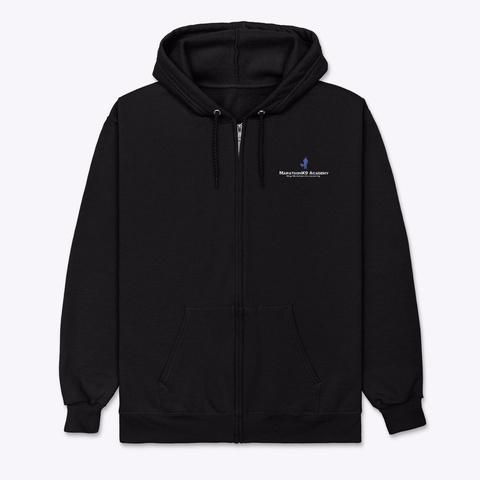 Marathon K9 Design 2 Black T-Shirt Front