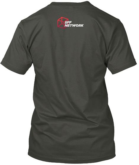 Sff Network Smoke Gray T-Shirt Back