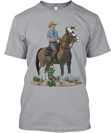 Arcus And Friends Heather Grey T-Shirt Front