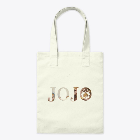 Creation Of Giorno Jojo Golden Wind Tote Natural T-Shirt Front