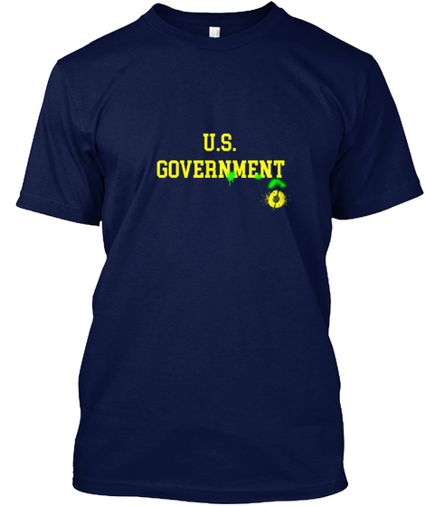 U. S Government Navy T-Shirt Front