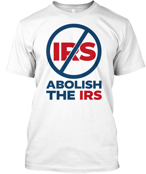 Irs Tee White T-Shirt Front