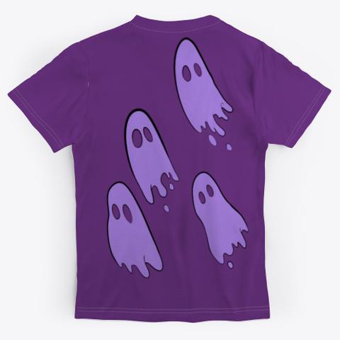 Trinity's T Shirt Purple T-Shirt Back