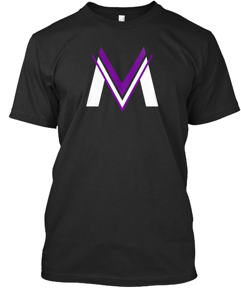 Mv Black T-Shirt Front