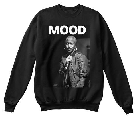Mood Black Sweatshirt Front