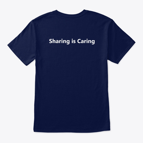 Pn P   Women In Stem   Small Logo Navy T-Shirt Back