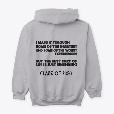 Class Of 2020 Sport Grey T-Shirt Back