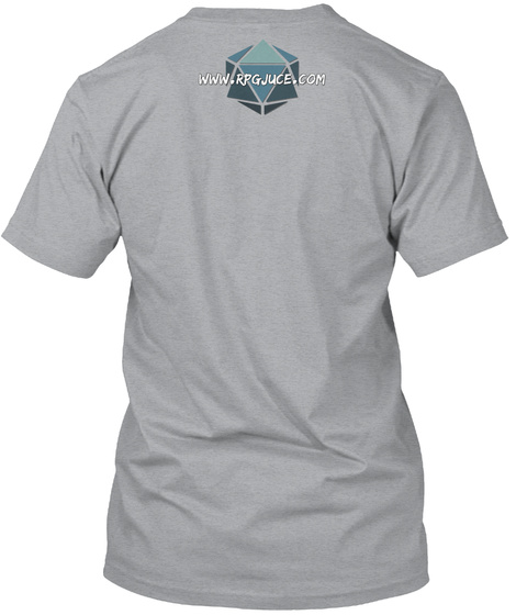 Master The Game Swag Heather Grey T-Shirt Back
