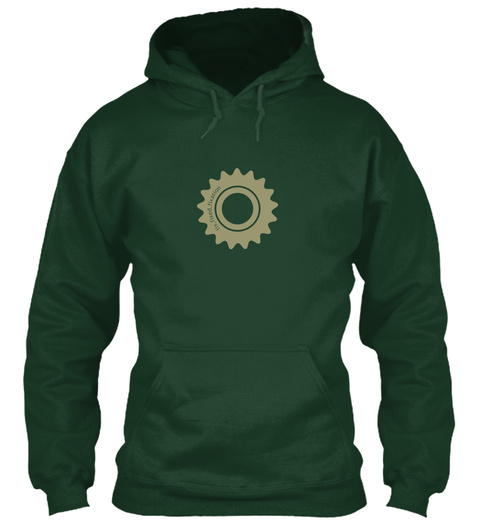 Oi Forest Green Sweatshirt Front