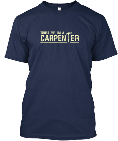 Carpenter   Limited Edition Navy T-Shirt Front