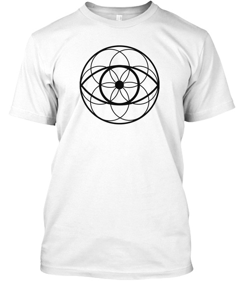 Integral Eyesight Improvement Apparel White T-Shirt Front