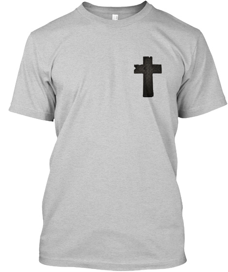Christian Breakthrough Light Steel T-Shirt Front
