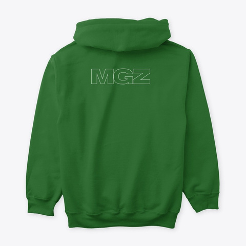 Indeed Merch Irish Green T-Shirt Back