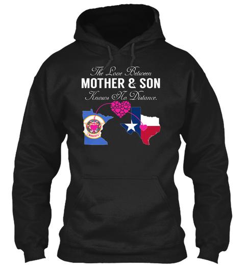 Mother Son   Minnesota Texas Black Sweatshirt Front
