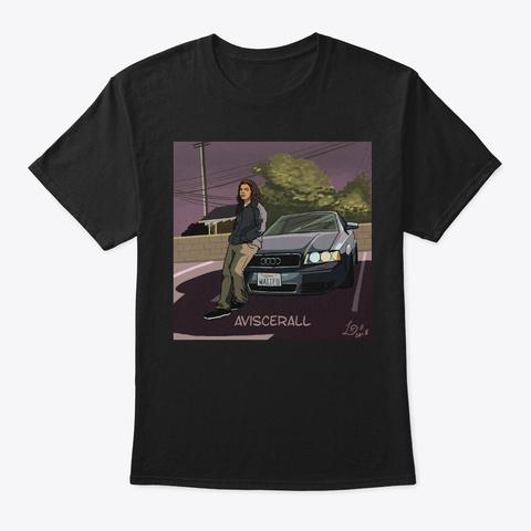 Aviscerall   Aviscerall Cover Black T-Shirt Front