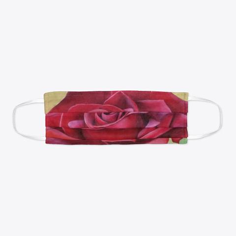 Rose Face Mask Standard Camiseta Flat