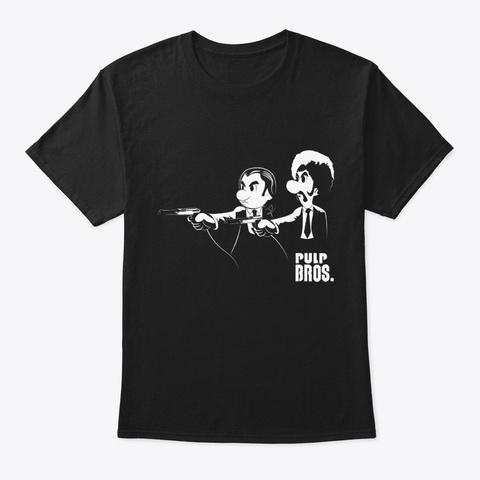 Pulp Bros. Black T-Shirt Front